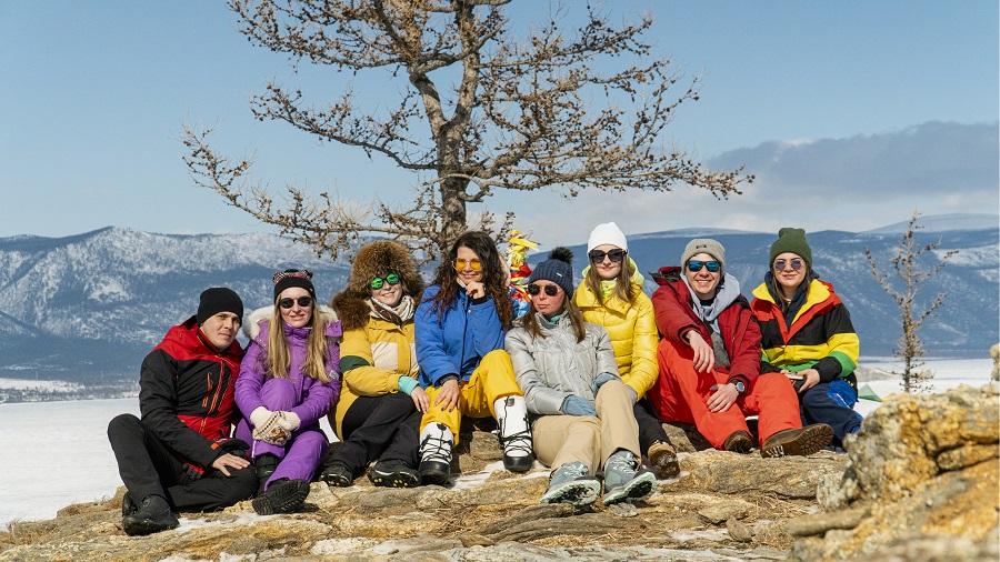 Байкал, Ольхон, зима, Байкальский лёд, новый год 2021
