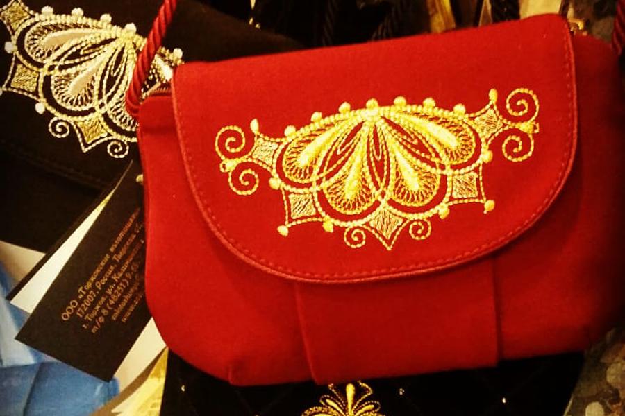 Торжокское золотное шитье, сувениры из Твери, Тверия